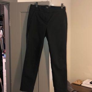 LOFT high waist skinny ankle pants